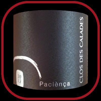 PACIÈNÇA 2012 le vin du Clos Des Calades pour notre blog sur le vin