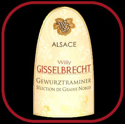 Gewurztraminer SELECTION DE GRAINS NOBLES 2007 le vin de Gisselbrecht pour notre blog sur le vin