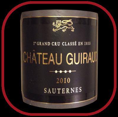 CHÂTEAU GUIRAUD 1ER GRAND CRU CLASSÉ 2010 le vin du Château Guiraud pour notre blog sur le vin