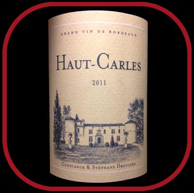 HAUT CARLES 2011 le vin du Château de Carles pour notre blog sur le vin