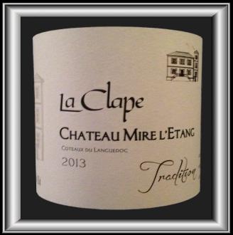 TRADITION 2013 le vin du Château Mire l'Etang pour notre blog sur le vin