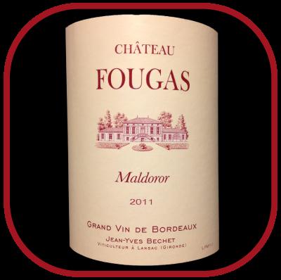 Maldoror 2011le vin du Chateau Fougas pour notre blod sur le vin