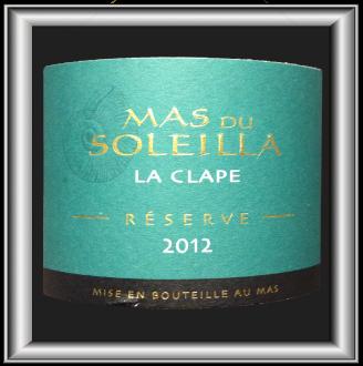 LA RESERVE 2012 le vin du Mas du Soleilla pour notre blog sur le vin