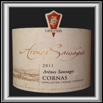 ARENES SAUVAGES 2011 le vin de la Cave de Tain pour notre blog sur le vin