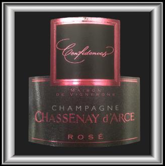 CUVÉE CONFIDENCES ROSÉ le Champagne rosé de Chassenay d'Arce pour notre blog sur le vin