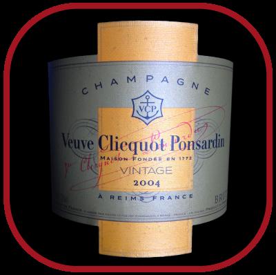 VINTAGE 2004 le champagne de Veuve Clicquot pour notre blog sur le vin