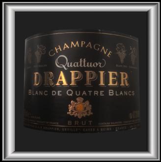 QUATTUOR le Champagne de la maison Drappier pour notre blog sur le vin