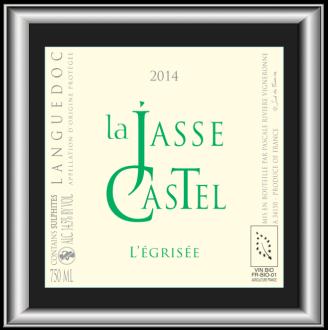 L'EGRISEE 2014 le vin de La Jasse Castel pour notre blog sur le vin
