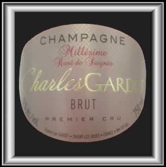 Le Prestige Charles Rosé de Saignée 2006 le champagne de Champagne Gardet pour notre blog sur le vin