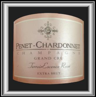 TerroirEscence ROSÉ le champagne de Champagne Penet-Chardonnet pour notre blog sur le vin