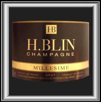 BRUT MILLESIME 2006 le champagne de H.Blin pour notre blog sur le vin