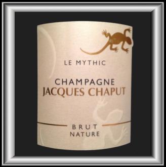LE MYTHIC, champagne de Jacques CHAPUT pour notre blog sur le vin