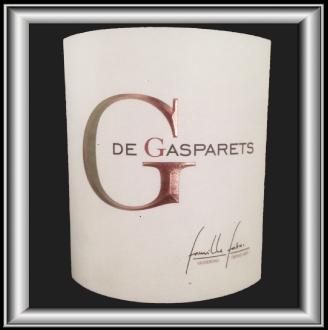 G DE GASPARETS le vin du Château Fabre Gasparets pour notre blog sur le vin