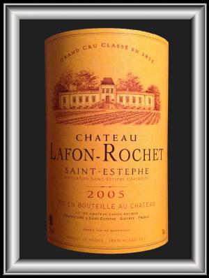 Château LAFON-ROCHET 2005 le Saint-Estèphe du Château LAFFON-ROCHER pour notre blog sur le vin