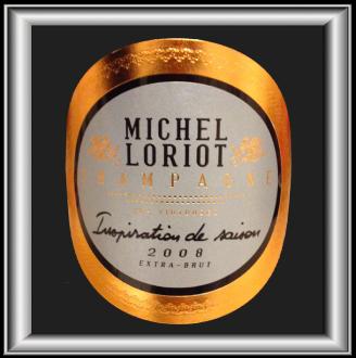INSPIRATION DE SAISON Extra Brut 2008 le champagne de Michel Loriot pour notre blog sur le vin