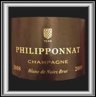 BLANC DE NOIRS BRUT 2008 le Champagne Philipponnat pour notre blog sur le vin