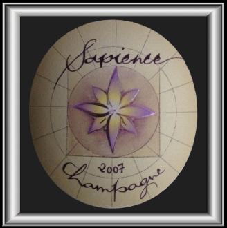 SAPIENCE 2007 le champagne Marguet pour notre blog sur le vin
