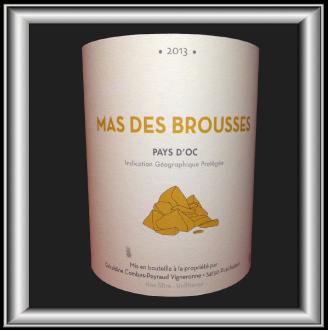 Mas des Brousses BLANC 2013 le vin de Géraldine Combes pour notre blog sur le vin