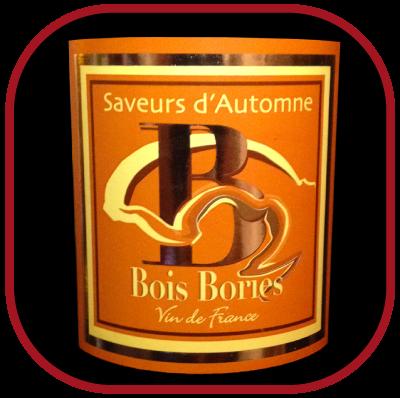 SAVEURS D'AUTOMNE le vin de dessert de Bois Bories pour notre blog sur le vin
