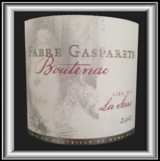 LA SERRE 2012 le vin du Château Fabre Gasparets pour notre blog sur le vin