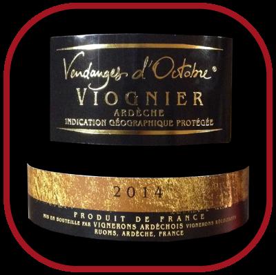 VIOGNIER VENDANGE D'OCTOBRE 2014 le vin des - Vignerons Ardéchois pour notre blog sur le vin