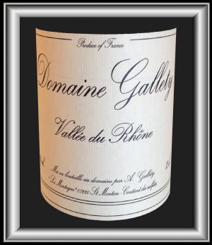 CUVÉE SPÉCIALE 2013 le vin du Domaine Gallety pour notre blog sur le vin
