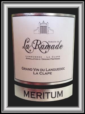 MERITUM 2010 le vin du Domaine de la Ramade pour notre blog sur le vin