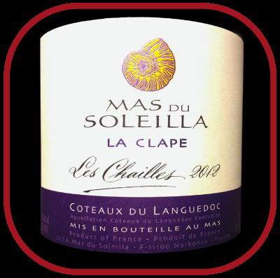 LES CHAILLES 2012 le vin du Mas du Soleilla pour notre blog sur le vin