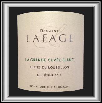 GRANDE CUVEE BLANC 2014 le vin du Domaine Lafage pour notre blog sur le vin