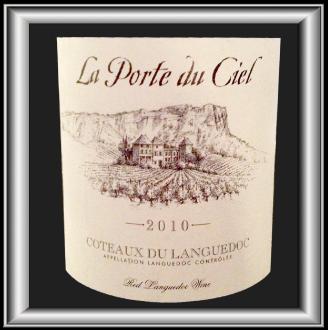 LA PORTE DU CIEL 2010 le vin du Château La Négly pour notre blog sur le vin