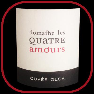 OLGA 2014 le vin du Domaine Des Quatre Amours pour notre blog sur le vin