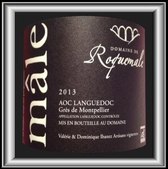 MALE 2013 le Grés de Montpellier du Domaine de Roquemale pour notre blog sur le vin
