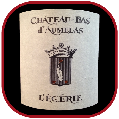 L'EGERIE 2011 le Grés de Montpellier du Château-Bas d'Aumelas pour notre blog sur le vin