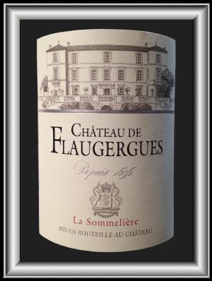 LA SOMMELIERE 2013 le Grés de Montpellier du Château de Flaugergues pour notre blog sur le vin