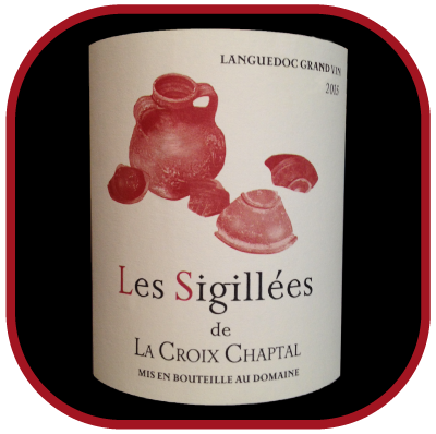 LES SIGILLÉES 2015 le rosé du Domaine La Croix Chaptal pour notre blog sur le vin