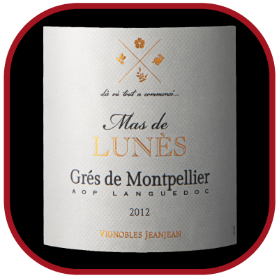 GRÉS DE MONTPELLIER 2013 le vin du Mas de Lunès pour notre blog sur le vin