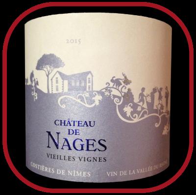 VIEILLES VIGNES 2015 le rosé du Château de Nages pour notre blog sur le vin