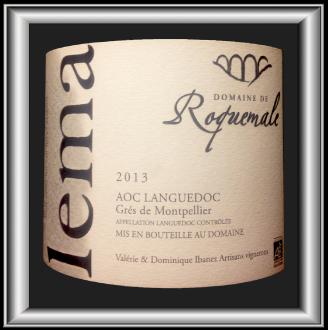 LEMA 2013 le Grés de Montpellier du Domaine de Roque pour notre blog sur le vin