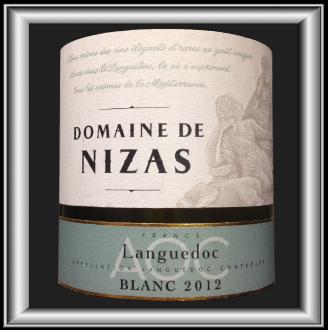 Domaine de Nizas Blanc 2012 un vin du Domaine de Nizas pour notre blog sur le vin