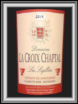 LES SIGILLÉES 2014 le vin blanc du Domaine La Croix Chaptal pour notre blog sur le vin
