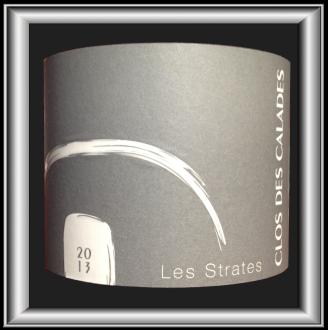 LES STRATES 2013 le vin du Clos des Calades pour notre blog sur le vin