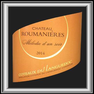 MÉLODIE D'UN SOIR 2014 le vin blanc du Château Roumanières pour notre blog sur le vin