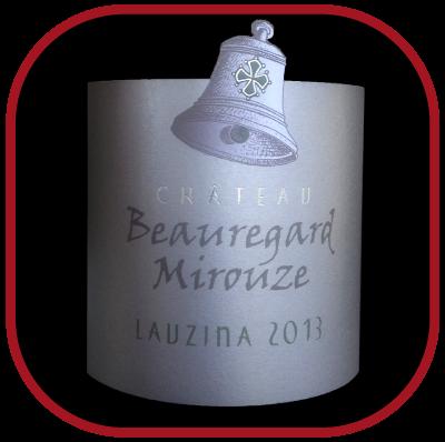 LAUZINA 2013 le corbières rouge du Château Beauregard Mirouze pour notre blog sur le vin