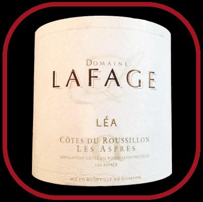 CUVEE LÉA 2014 le vin du Domaine Lafage pour notre blog sur le vin