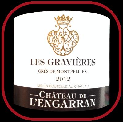 LES GRAVIÈRES 2012 le Grés de Montpellier du Château de l'Engarran pour notre blog sur le vin