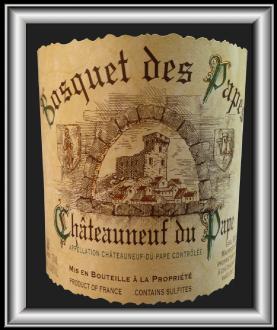 CUVÉE TRADITION BLANC 2015 le Châteauneuf-du-Pape du domaine Bosquet Des Papes pour notre blog sur le vin
