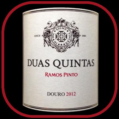 DUAS QUINTAS 2012 le vin de la maison Ramos Pinto pour notre blog sur le vin