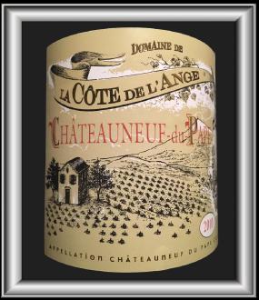 CUVÉE TRADITION 2010 le Châteauneuf-du-Pape du Domaine de la Côte de l'Ange pour notre blog sur le vin