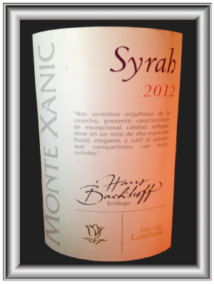 EDICION LIMITADA SYRAH 2012 le vin de la Bodega Monte Xanic pour notre blog sur le vin