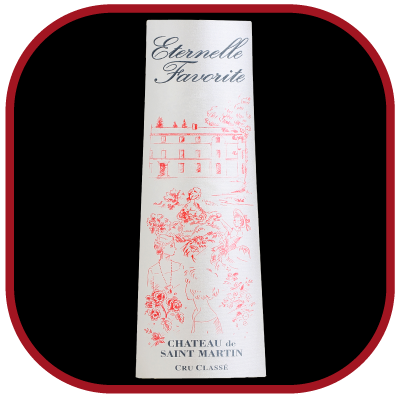 ETERNELLE FAVORITE 2016 le vin rosé du Château de Saint-Martin pour notre blog sur le vin
